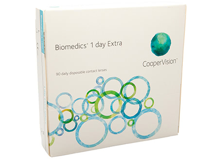 Biomedics 1 Day Extra (90 lenti)