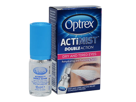 Optrex ActiMist Spray 2in1 per Occhi Secchi e Irritati