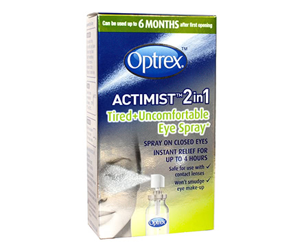Optrex ActiMist Spray 2in1 per Occhi Stanchi e Arrossati (10ml)