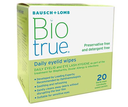 Biotrue Daily Eyelid Salviette (20 salviette)