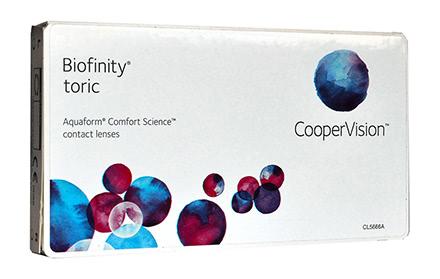 Biofinity Toric (6 lenti)
